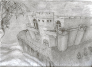 castle and dragon small