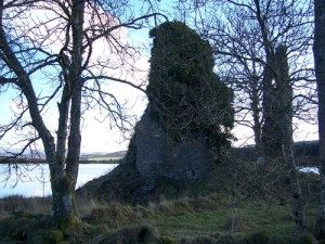 Remains of Ascog Castle